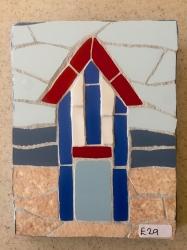 Mosaic New England beach hut