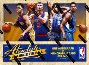 2016 PANINI ABSOLUTE BASKETBALL - PYT (FULL CASE)
