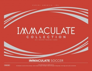 (CASE #5) 2017 PANINI IMMACULATE SOCCER - 5BOX PICK YOUR TEAM