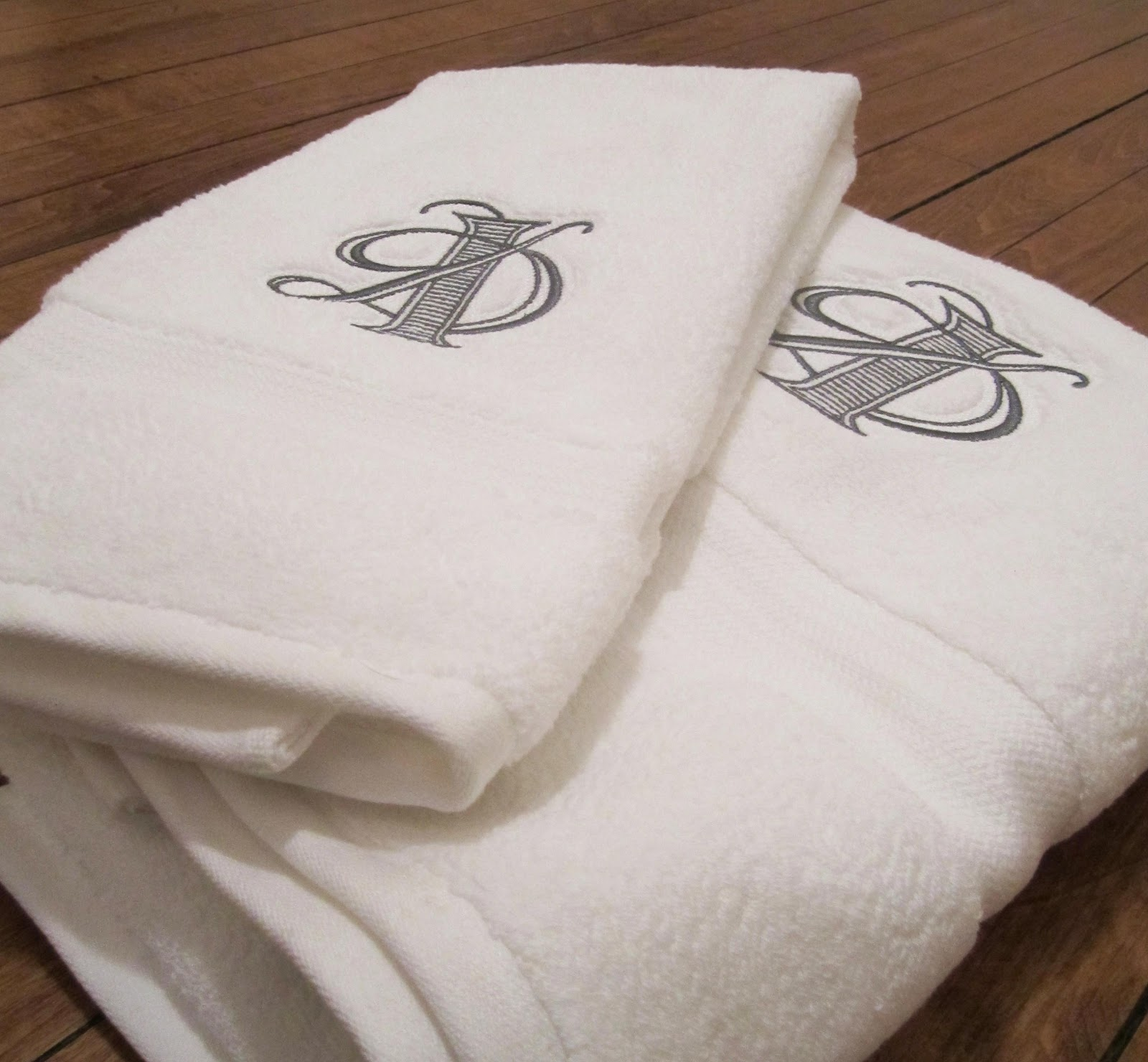 Embroidered Towels Online: Embroidered Towels