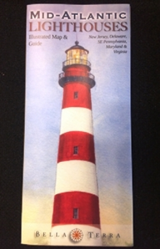 Mid-Atlantic Lighthouses Map & Guide