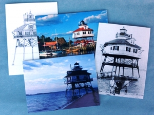 Drum Point Lighthouse Mixed Notecard Box