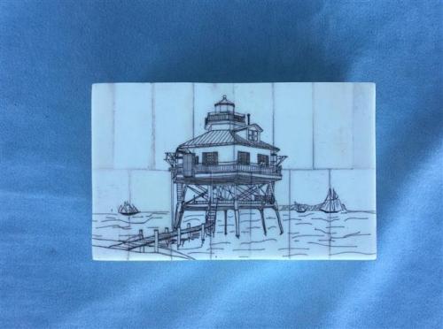Drum Point Lighthouse box