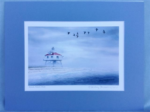 Harry Richardson Prints - Drum Point Lighthouse