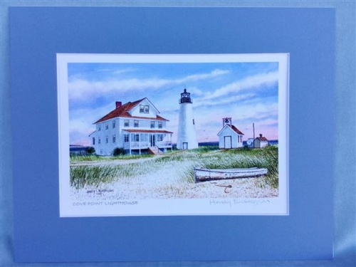 Harry Richardson Prints - Cove Point Lighthouse
