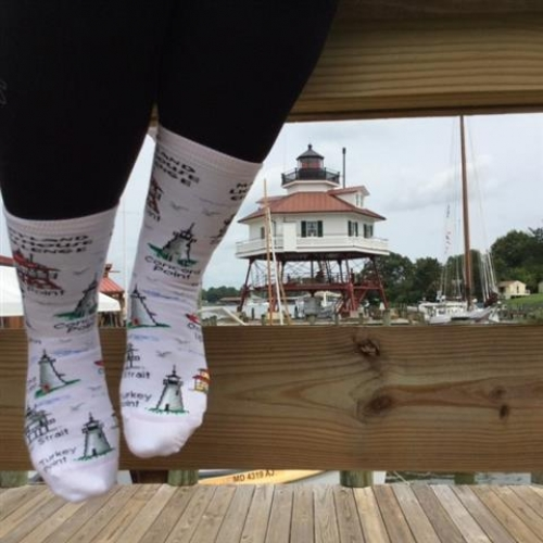 Lighthouse Challenge Socks