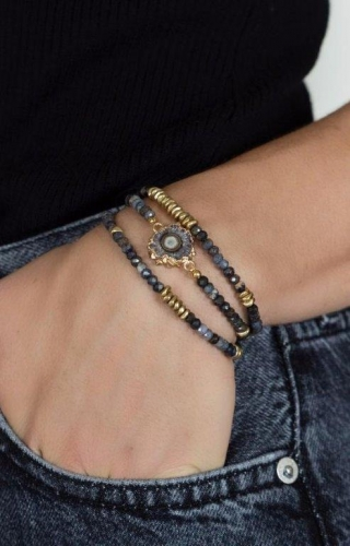 Mickey Lynn Jewelry - Soar Sapphire Wrap Bracelet