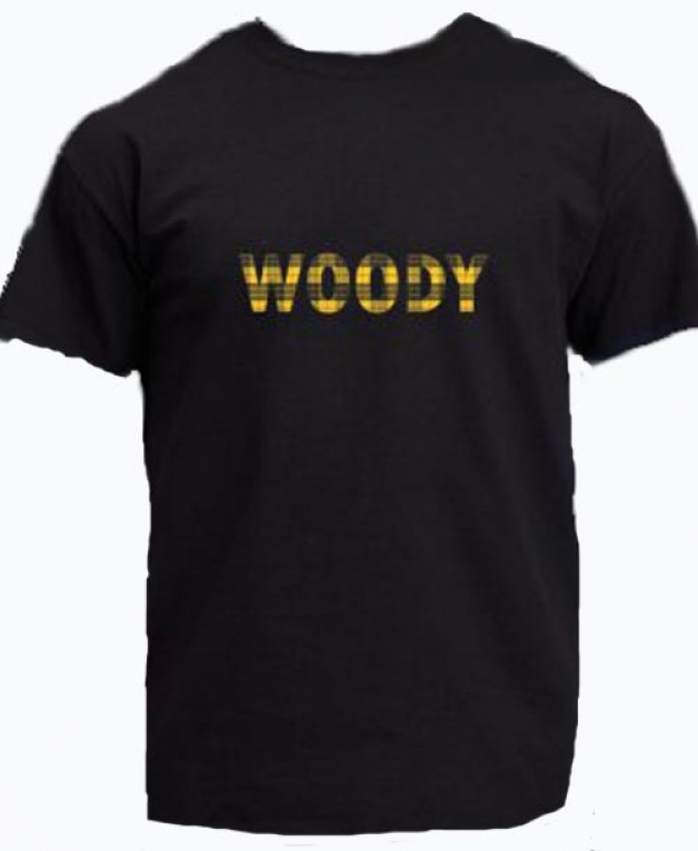 Black Woody T Shirt