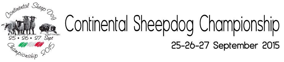 Continental Sheepdog Championship 2015 Online Store