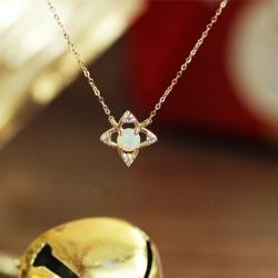 華奢 k18ゴールド ネックレス ダイヤ 人気 チェーン 18金 ゴールドネックレス 大学生 彼女