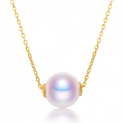 アコヤ真珠ネックレス 一粒 パールネックレス 8mm 8.5mm k18 ネックレス 格安 カジュアル 人気 プレゼント