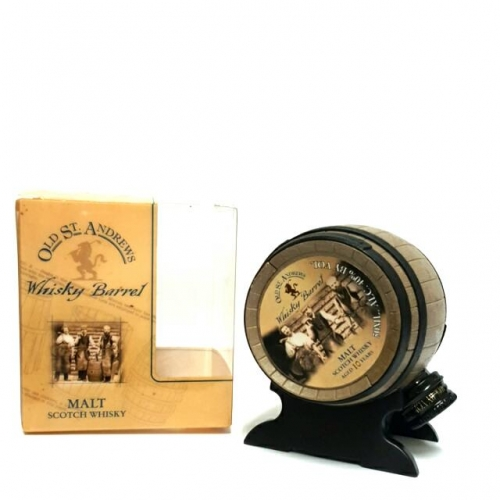Old St. Andrews 10 Years Whisky Barrel Whisky Miniature