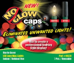No Glow Caps - 5 Pack Combination
